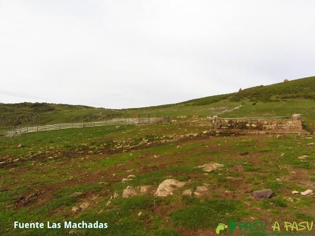 Fuente Las Machadas, Somiedo