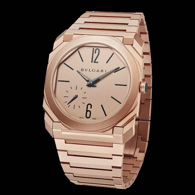 Bulgari Octo Finissimo Automatic Sandblasted in red gold