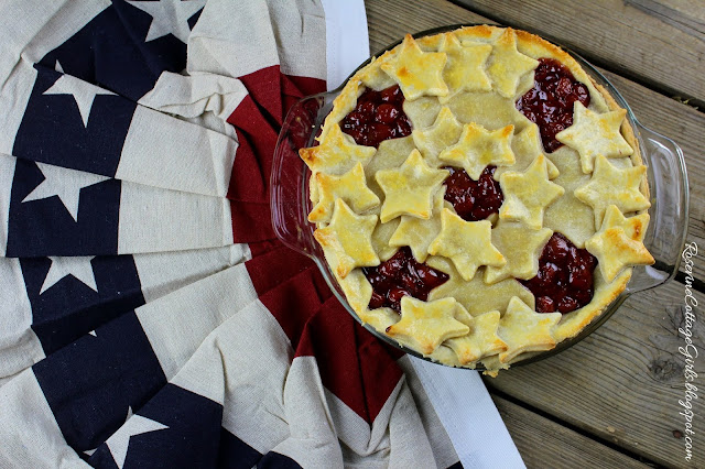 #patriotic #4threcipes #summerrecipes #pies #cherrypie #homemadepiefilling #homemade #cherry #IndependenceDay #Desert #recipe #foodblogger