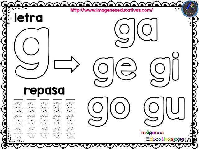42 grandiosos silabarios para colorear 9