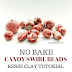 No Bake Candy Swirl Resin Clay Beads Tutorial