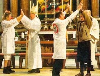 Hỗn loạn trong Giáo Hội Đức trong sự trỗi dậy của Hướng dẫn Mục vụ Mới