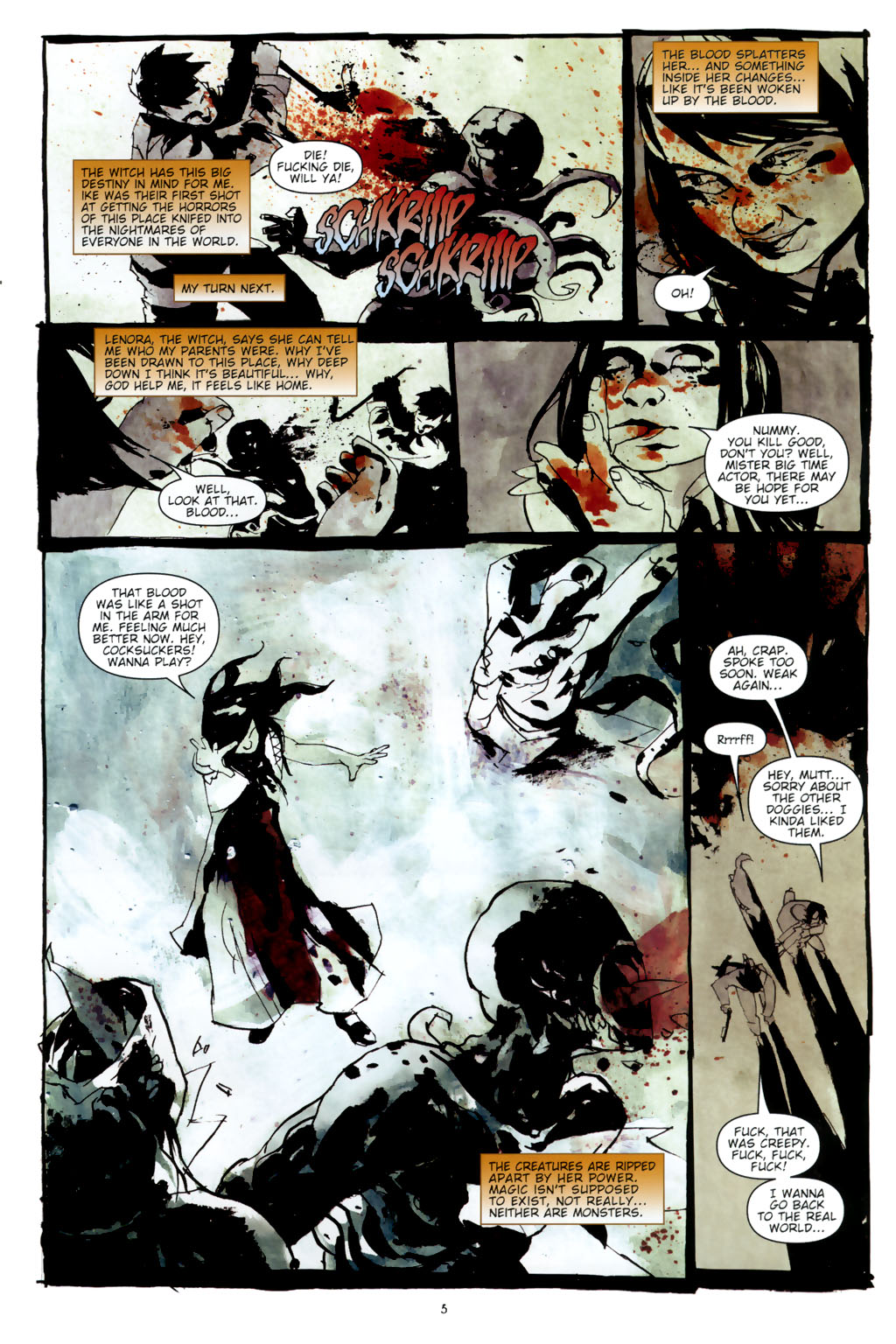 Read online Silent Hill: Dead/Alive comic -  Issue #3 - 7