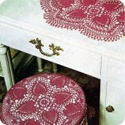 Tapete funda de cojin a Crochet