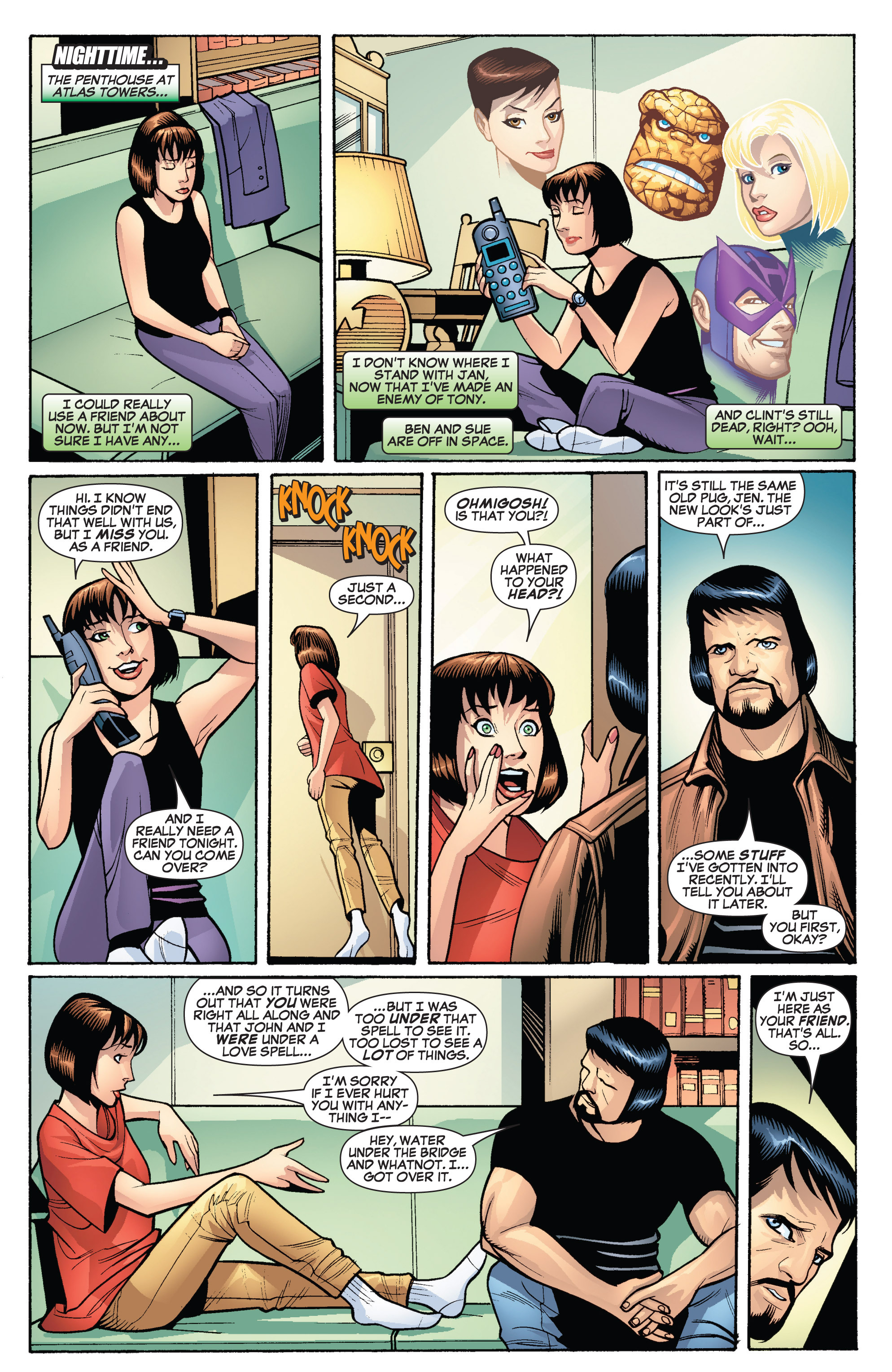 Read online She-Hulk (2005) comic -  Issue #19 - 16
