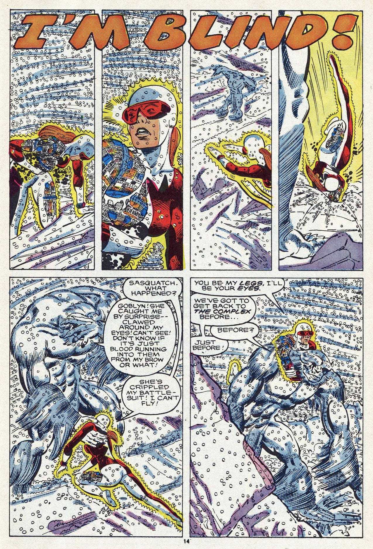 Read online Alpha Flight (1983) comic -  Issue #54 - 20