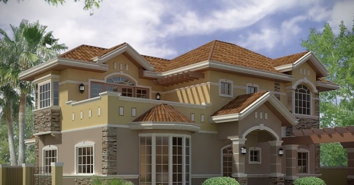 All Architectural Designing: 3D House Front Elevation