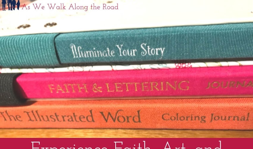 Faith, Art, and Journaling: A Review of Beautiful Art Journals from Ellie Claire