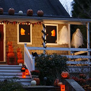 Slideshow spiritosa con fantasmi e spettri halloween immagine
