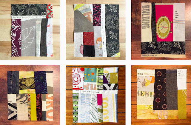 #100DaysofImprovizedPatchwork #The100DayProject