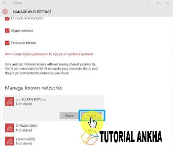 Cara Mudah mengganti Password wifi pada windows 10