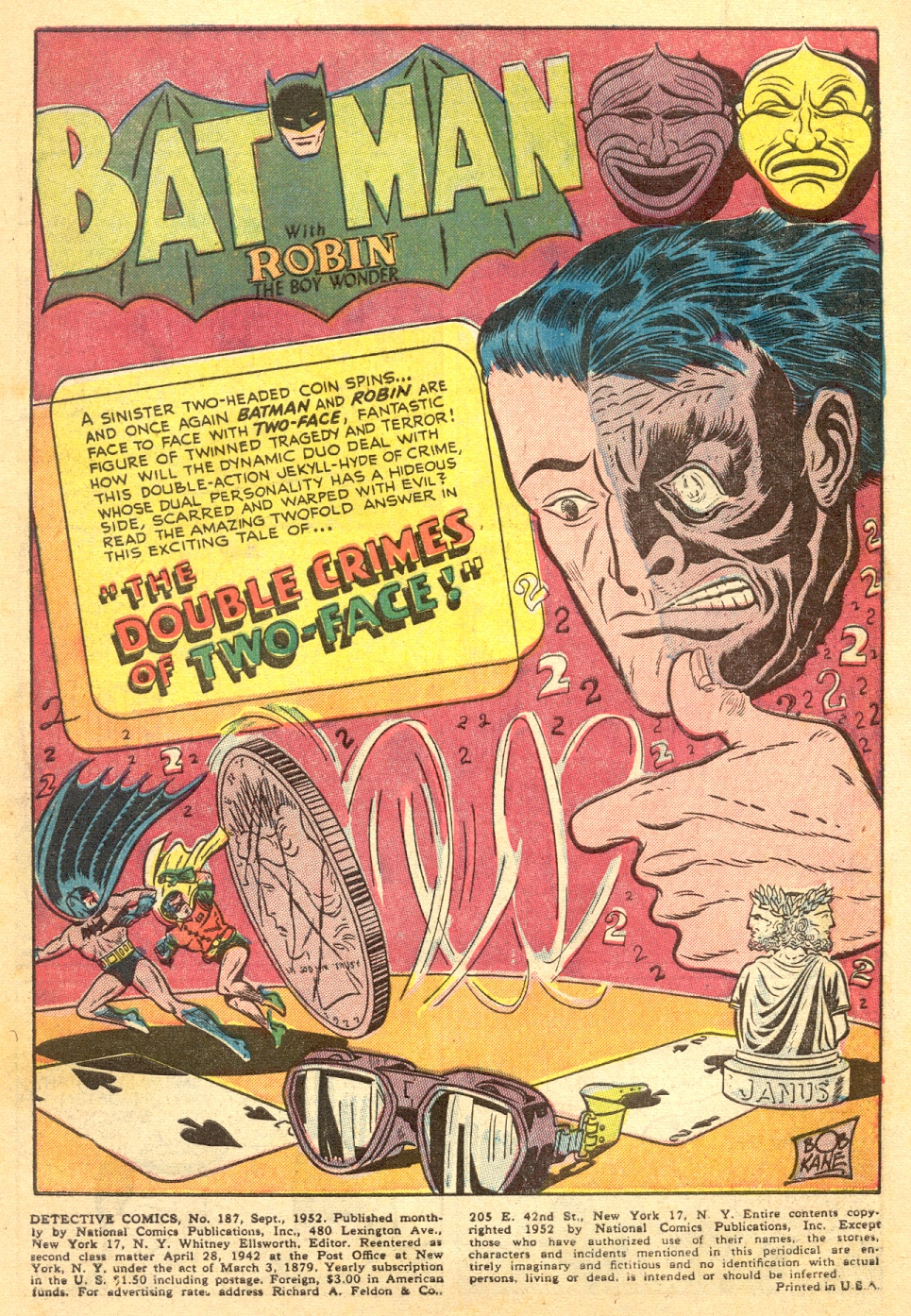 Read online Detective Comics (1937) comic -  Issue #187 - 3