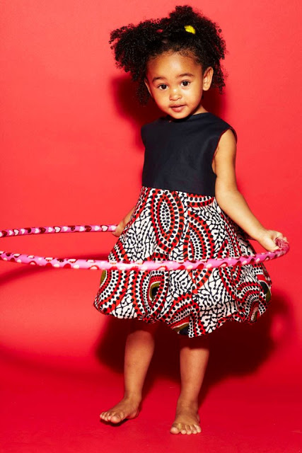 cute ankara styles for baby girl (1)