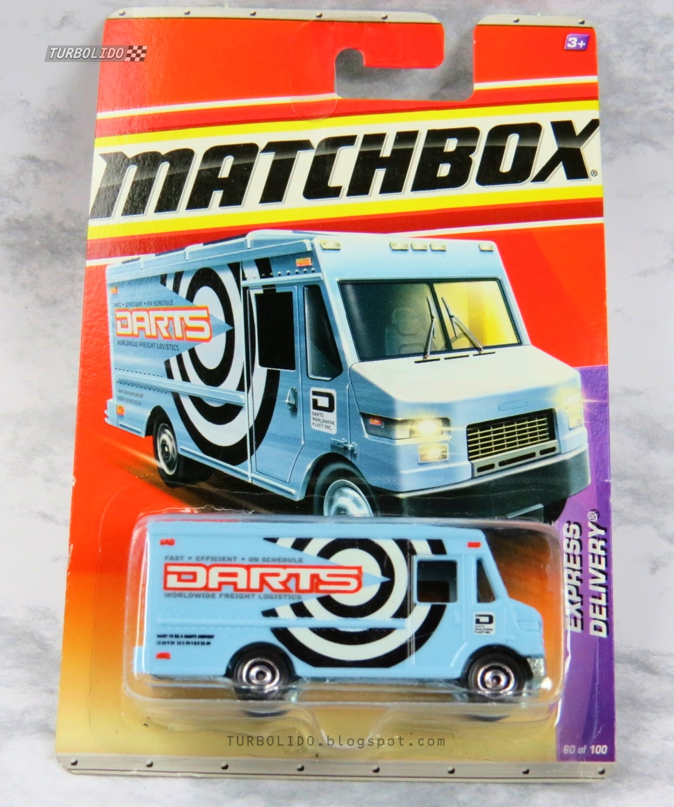 TURBOLIDO Cars: MATCHBOX EXPRESS DELIVERY / MBX T8932