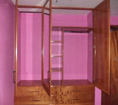 Closet de madera en Los Olivos