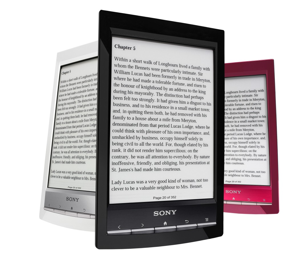 Vendo Libro Electronico Sony Review Ereader Sony Prs T1 Android