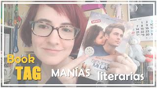 Book TAG Manías literarias