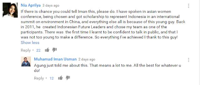 The Man Who Changed My Life: Iman Usman