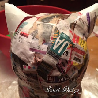 DIY Owl: Paper Mache Owl Craft Tutorial. How to make.