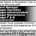 Renowned Sports And Recreation Club Karachi Jobs