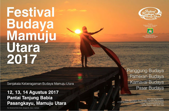 Festival Budaya Mamuju Utara 2017 : Senjakala Keberagaman Budaya