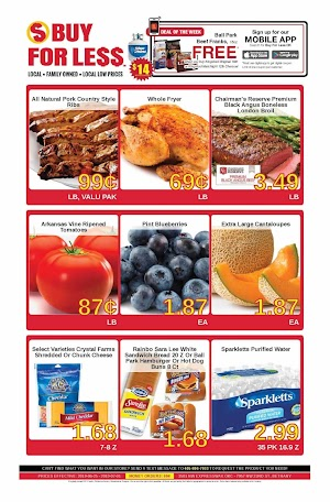 Buy For Less Weekly Ad July 2 - July 8, 2019