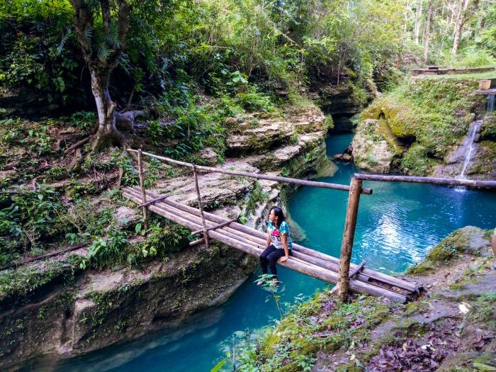 cancalanog falls, alegria, cebu
