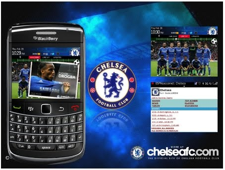 download chelsea theme for blackberry