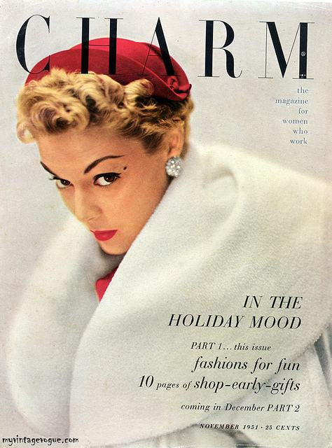 fashion magazine covers from 1940s1950s vintage everyday