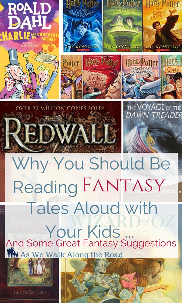 Why read fantasy aloud and fantasy reading suggestions