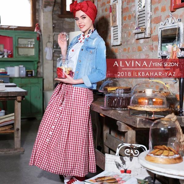 Alvina Tesettür 2018 İlkbahar Yaz