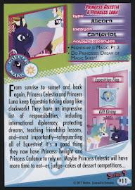 MLP Princess Celestia & Princess Luna Series 4 Trading Card