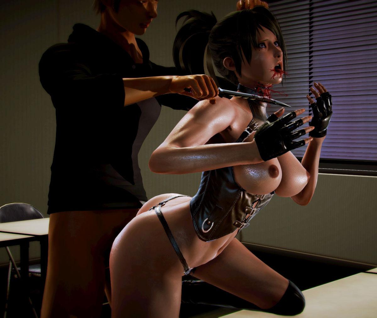 Hình ảnh 031 in Truyện Hentai 3D Nữ chiến binh Ryona