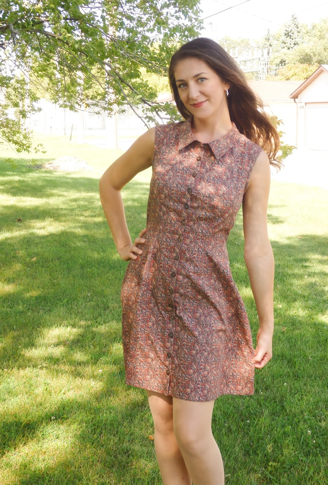 f519eee2d55 Completed  Deer   Doe Bleuet Dress