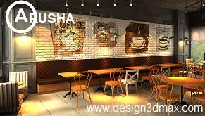 Anda Sedang Membutuhkan Jasa Design Online Untuk Desain Cafe Gaul Unik Minimalis Modern Dan Menarik Cukup Dengan SMS WA Ke 081916200296