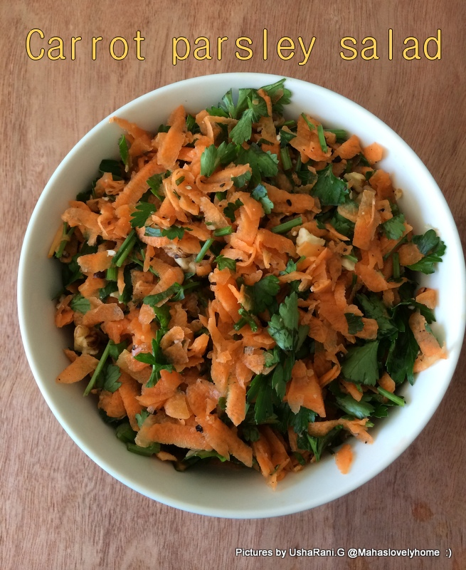 Carrot And Walnut Cake Bbc