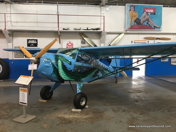 Kitfox Classic IV-1200 Taildragon plane at Oakland Aviation Museum in Oakland, California