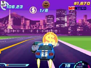 Asphalt 6 320*240 HD Car Racing Game download for Nokia Asha