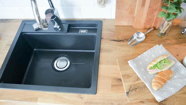 keittio remontti remontoitu massiivipuutaso pukkila facetti laatta stala musta allas