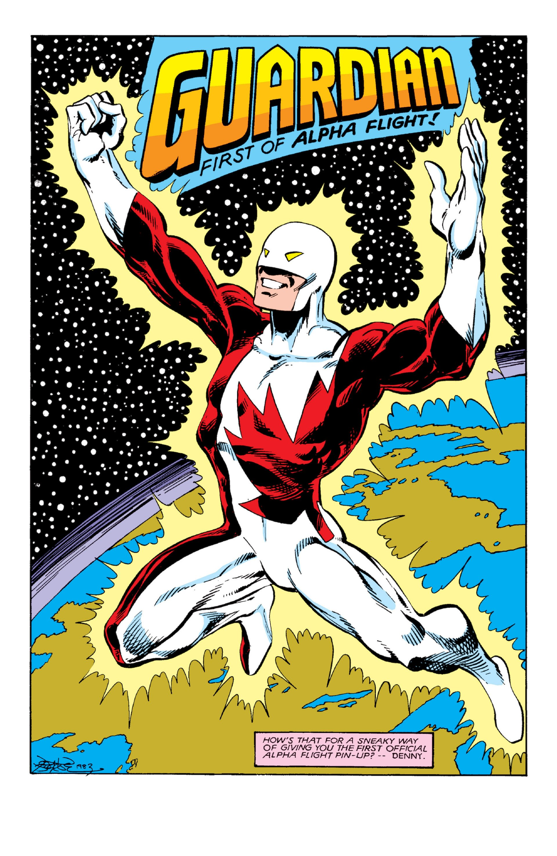 Read online Alpha Flight (1983) comic -  Issue #3 - 22