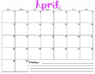2018 calendar pdf