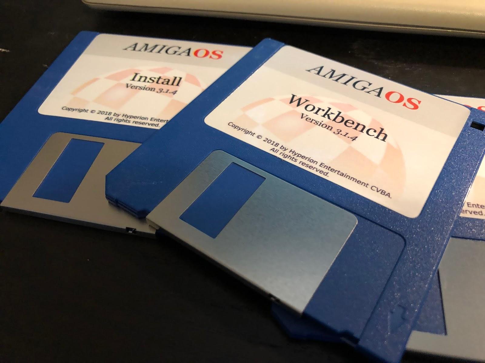 Epsilon's Amiga Blog: AmigaOS 3 1 4 on A500