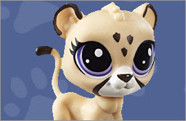 LPS Jaguar Figures