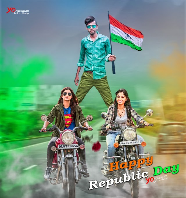 Happy Republic Day 2018 Special Edit PhotoShop Manipulation