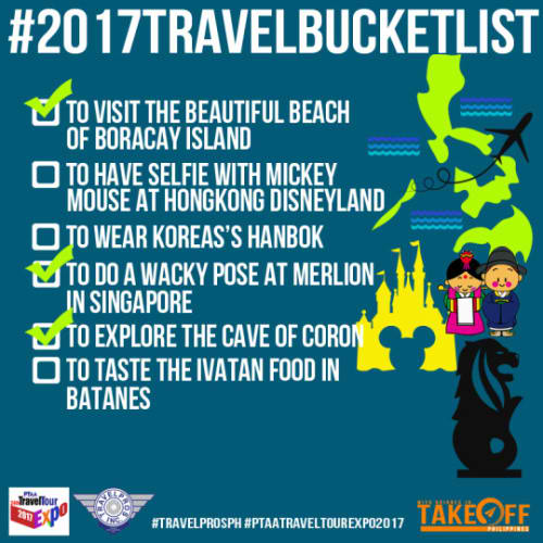 #2017TravelBucketlist