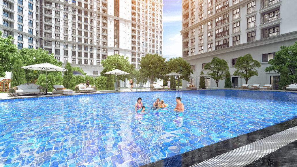 Bể bơi CT8