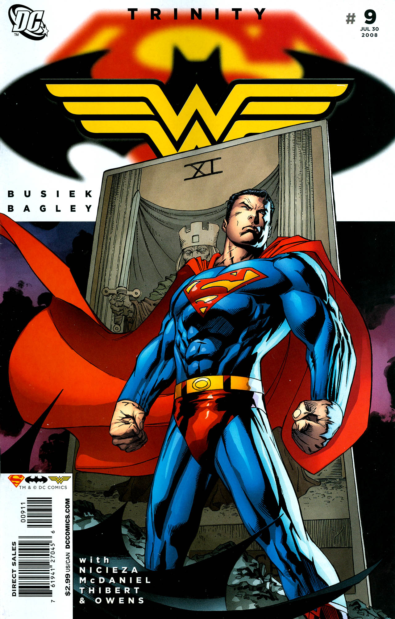Read online Trinity (2008) comic -  Issue #9 - 1