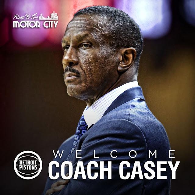 Dwane Casey coach des Pistons | PistonsFR, actualité des Detroit Pistons en france