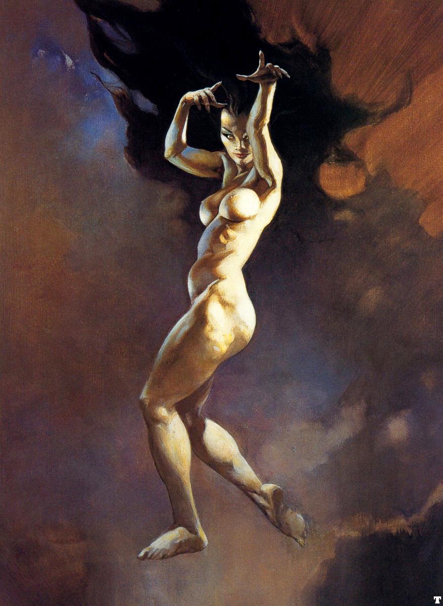nude fantasy artists women