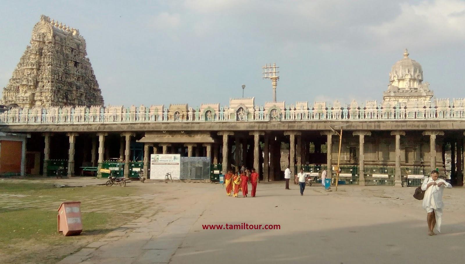 Kanchipuram Ekambaranathar Temple (Old, New, Drawing)